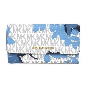 Michael Kors Jet Set Travel PVC Large Wallet